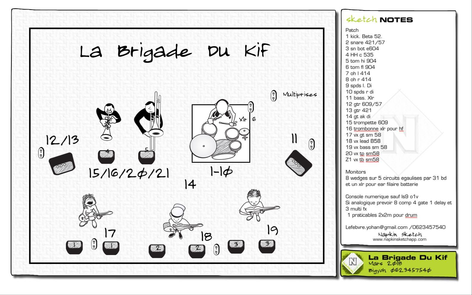 La Brigade Du Kif-Mars 2018